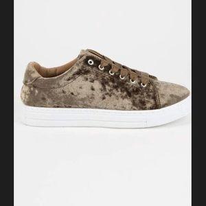 Crush Velvet Sneaker